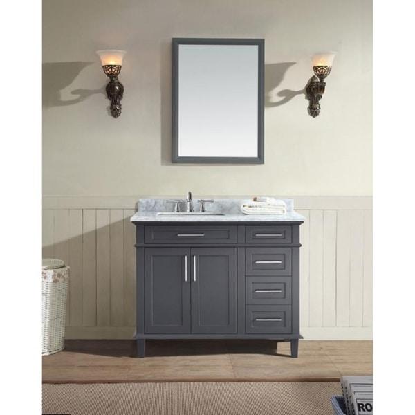 "Newport 42"" Bathroom Vanity Charcoal"