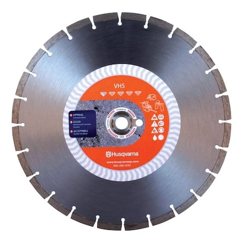 Husqvarna VH5 12 in. Dia. For Wet/Dry Diamond Saw Blade
