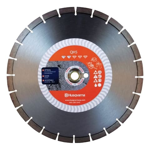 Husqvarna QH5 12 in. Dia. For Wet/Dry Diamond Saw Blade