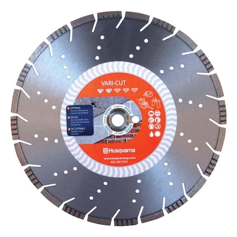 Husqvarna Vari-Cut Vari-Cut 14 in. Dia. For Wet/Dry Diamond Saw Blade