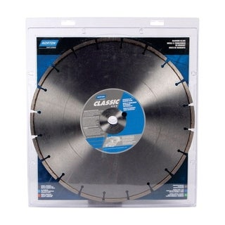 Norton Classic 14 in. Dia. Segmented Rim Diamond Saw Blade