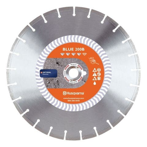 Husqvarna Banner Line Blue 200B 14 in. Dia. For Wet Diamond Saw Blade