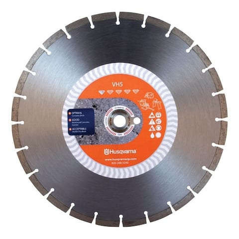 Husqvarna VH5 14 in. Dia. Diamond Saw Blade For Wet/Dry