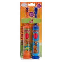Brushpoint Twin Pack Battery Power Toothbrush Scooby Doo