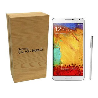 Samsung Galaxy Note 3 SM-N900 32GB White T-MOBILE UNLOCKED (New Open Box)
