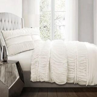 Lush Decor Nova Ruffle 3 Piece Comforter Set (2 options available)
