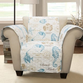 Lush Decor Harbor Life Arm Chair Furniture Protector