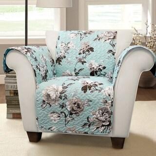 Lush Decor Tania Floral Arm Chair Furniture Protector