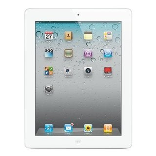 Apple iPad 2, 16 GB, Wi-Fi, White (MC979LL/A)
