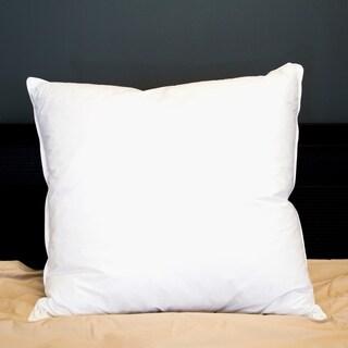 Amrapur Overseas 300 Thread Count 100-Percent Cotton Euro Pillow - White
