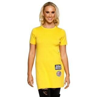 Xehar Womens Casual Fashion Knit T-Shirt Dress