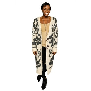 Xehar Womens V-Neck Long Sleeve Button Floral Print Cardigan Sweater (2 options available)