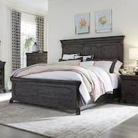 Bellamy Traditional Peppercorn Panel Bed