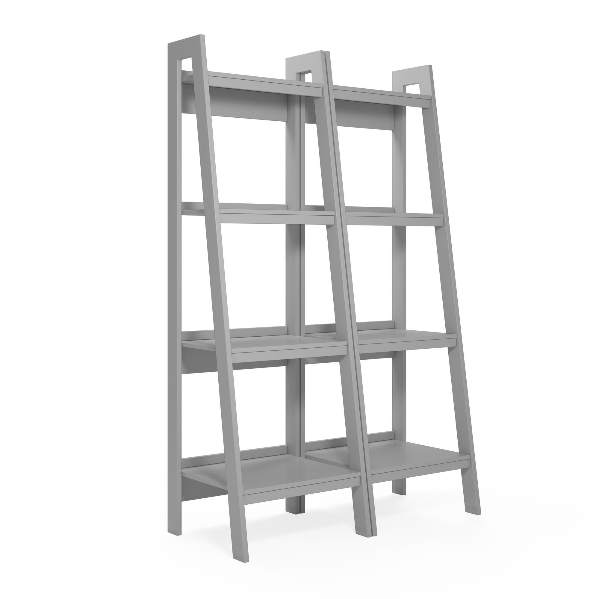 Avenue Greene Thompkins 4 Shelf Ladder Bookcase Bundle Set Of 2