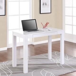 Porch U0026 Den Alley White Desk With Drawer