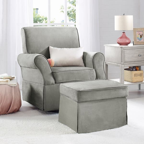 Awesome Shop Baby Relax Kelcie Swivel Glider And Ottoman Set On Cjindustries Chair Design For Home Cjindustriesco