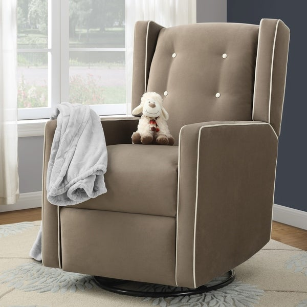 Avenue Greene Helena Swivel Glider Recliner Chair. Opens flyout.