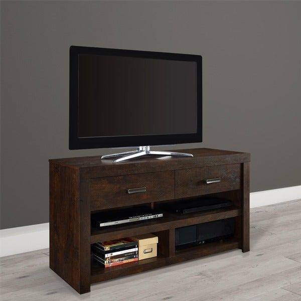 Shop Porch Den Elston 42 Inch Tv Stand Free Shipping Today