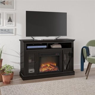 Altra Espresso Chicago Fireplace 50 inch TV Console