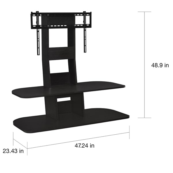 Avenue Greene Crossfield TV Stand with Mount for TVs up to 65-inches Wide