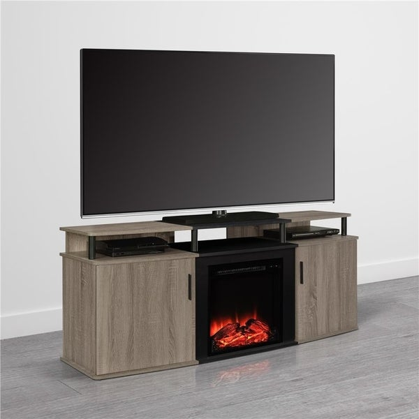 Avenue Greene Ford Electric Fireplace TV Console for TVs up to 70-inches Wide
