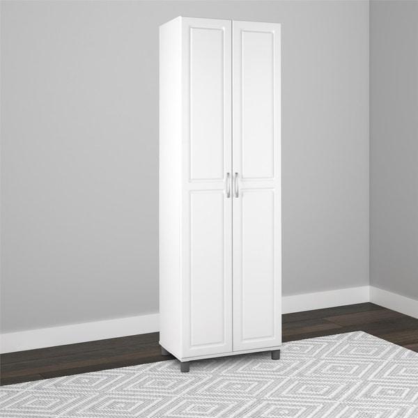 Avenue Greene SystemBuild White Baldwin 24-inch Storage Cabinet