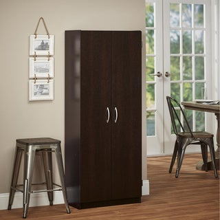 Avenue Greene Anniston Espresso Tall Storage Cabinet