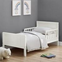 Avenue Greene Nicky White Toddler Bed