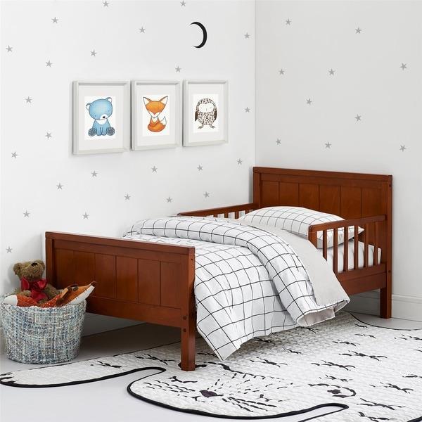 Avenue Greene Nicky Dark Cherry Toddler Bed