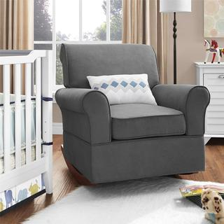 Avenue Greene Oscar Grey Rocker - N/A