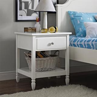 Avenue Greene Rosalyn White Nightstand