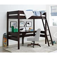 Avenue Greene Lola Loft Bed with Desk