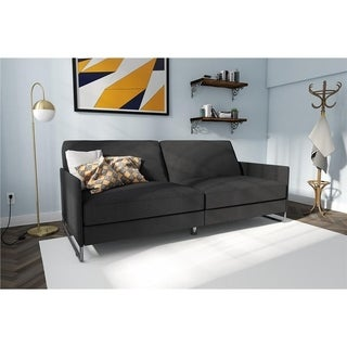 Avenue Greene Parma Convertible Linen Futon (2 options available)