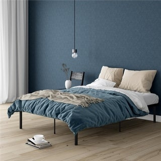 Avenue Greene Monica Metal Full Platform Bed (2 options available)