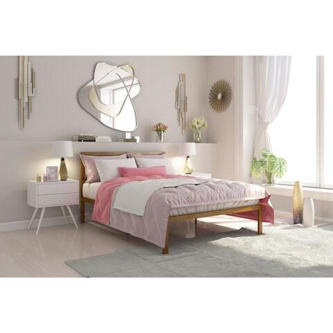 DHP Signature Sleep Queen-size Platform Bed with Headboard
