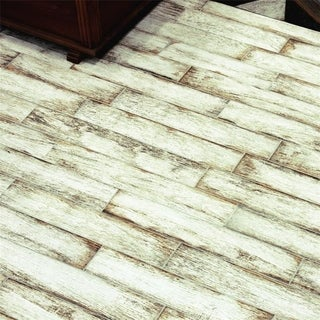 SomerTile 3.125x17.5-inch Paulo White Porcelain Floor and Wall Tile (30/Case, 12.48 sqft.)