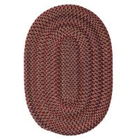 Colonial Mills Capetown Sunset Red Area Rug - 4' x 6' Oval