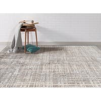 Wilton-woven Savannah Blue Transitional Rug - 7'10 x 10'10