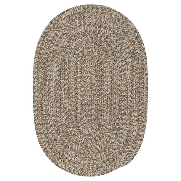Colonial Mills Farmstand Grey Tweed Driftwood Area Rug - 8' x 10'