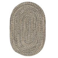 Farmstand Tweed Fog Grey Area Rug - 6' x 9'