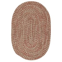Farmstand Tweed Terracotta Area Rug (8' x 10')