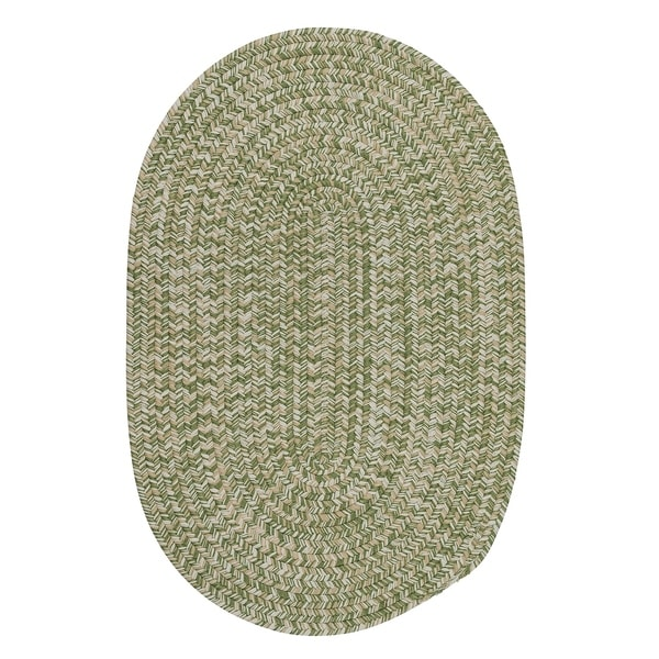 Shop Colonial Mills Farmstand Green Tweed Moss Area Rug