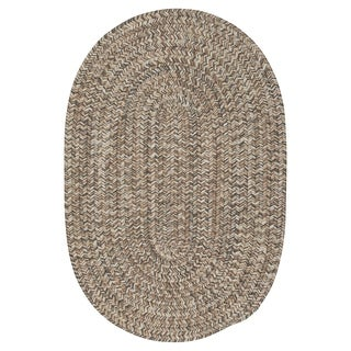 Colonial Mills Farmstand Driftwood Grey/Natural Tweed Area Rug - 3' x 5'
