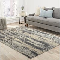 RugSmith Grey Oak Contemporary Modern Area Rug - 5' x 7'