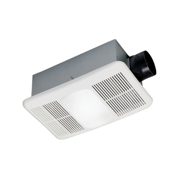 Bathroom Exhaust Fan Wattage: Shop Delta BreezRadiance Ventilation Fan/Heat Combination