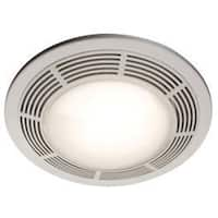 Broan  Ventilation Fan and Light Combination  Ceiling  15 in. D x 7-5/8 in. H x 15 in. W