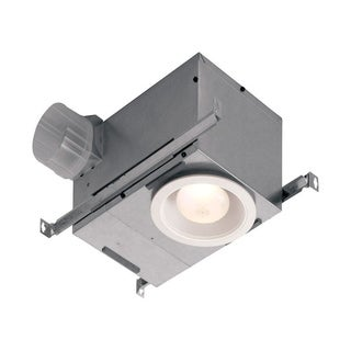 Broan Recessed Fan with LED Lighting Ceiling 12-3/4 in. D x 6-7/8 in. H x 8-1/4 in. W