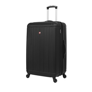 SwissGear Black 28- inch Lightweight Hardside Spinner Suitcase