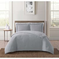 Truly Soft Everyday Solid Jersey 3 Piece Comforter Set