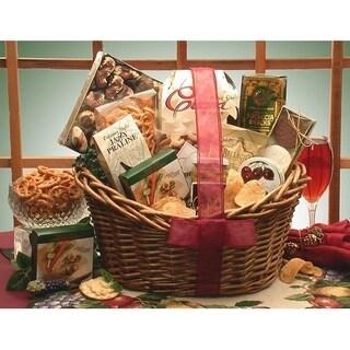 Gourmet Snacker Gift Basket